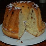 Kouglof traditionnel d'Alsace