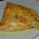 Tarte poisson-curry (Saumon & Lingue)